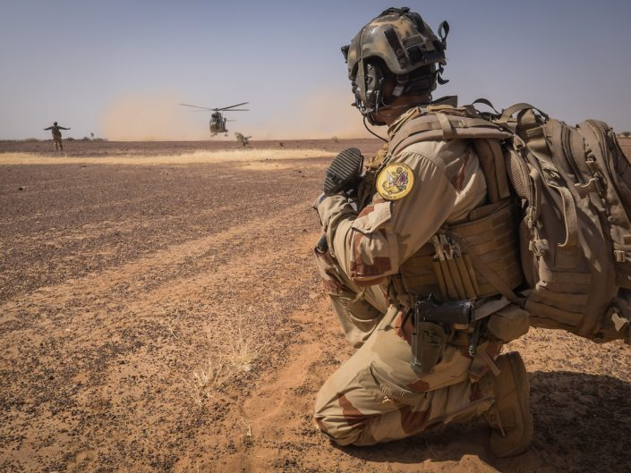 Barkhane Operation in Mali